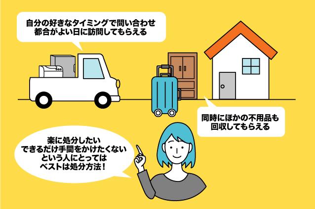 大きなスーツケースの処分は不用品回収がおすすめ